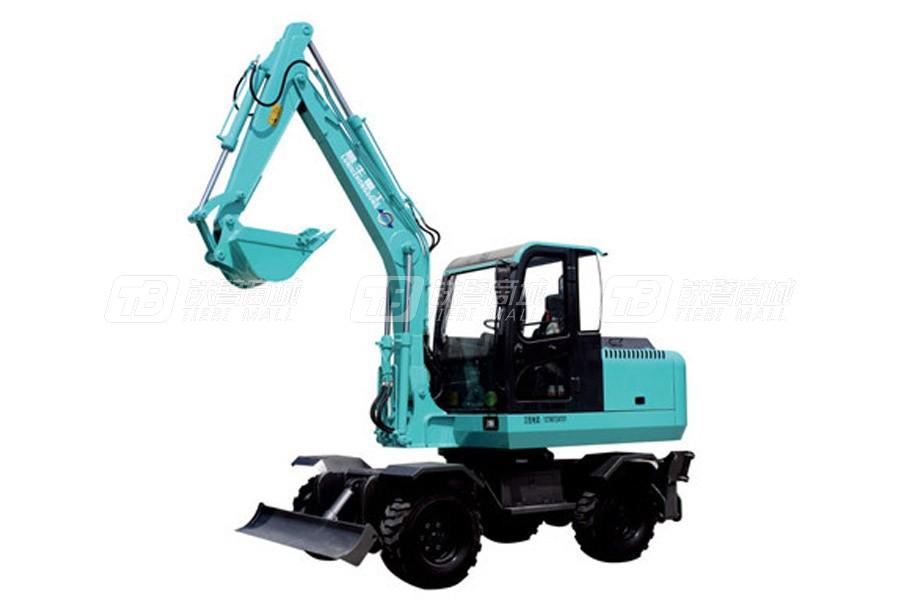 鲁牛重工SW70轮式挖掘机
