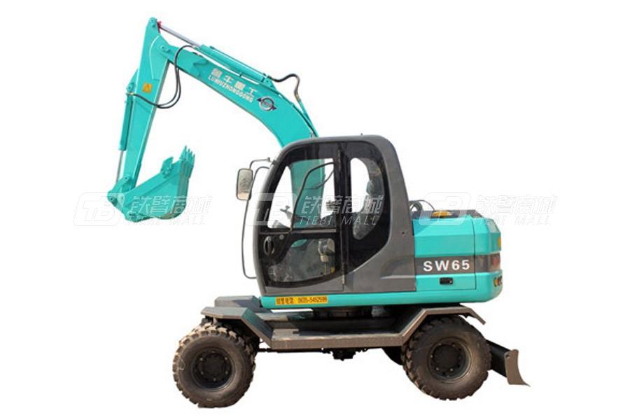 鲁牛重工SW65轮式挖掘机