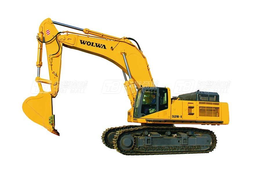 沃尔华DLS760-8B液压挖掘机