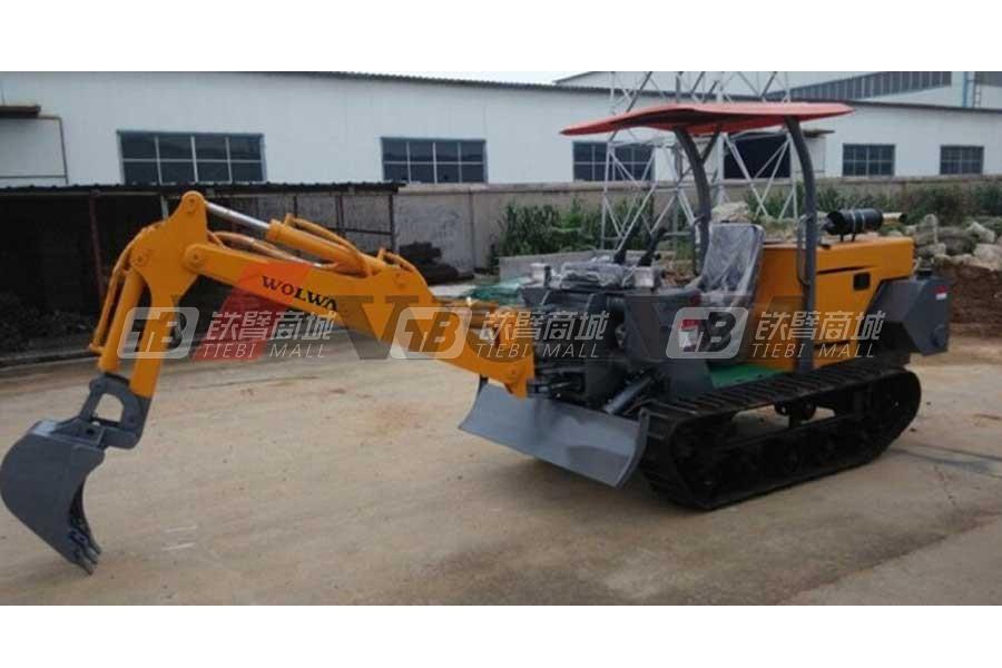 沃尔华DLS818-9N履带农用挖掘机