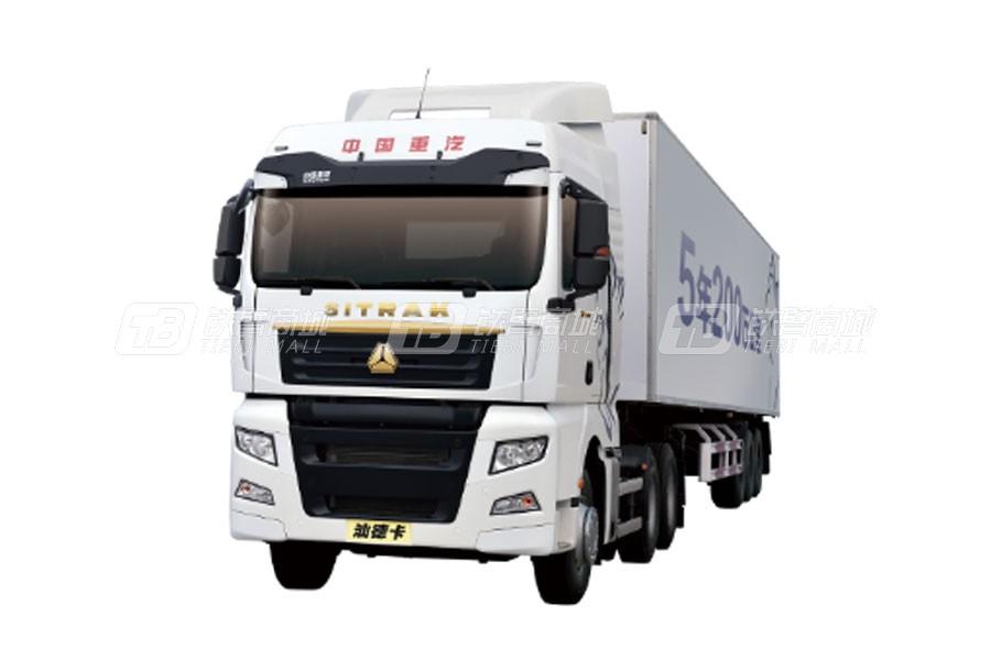 中国重汽汕德卡C7H6×4 普货运输牵引车