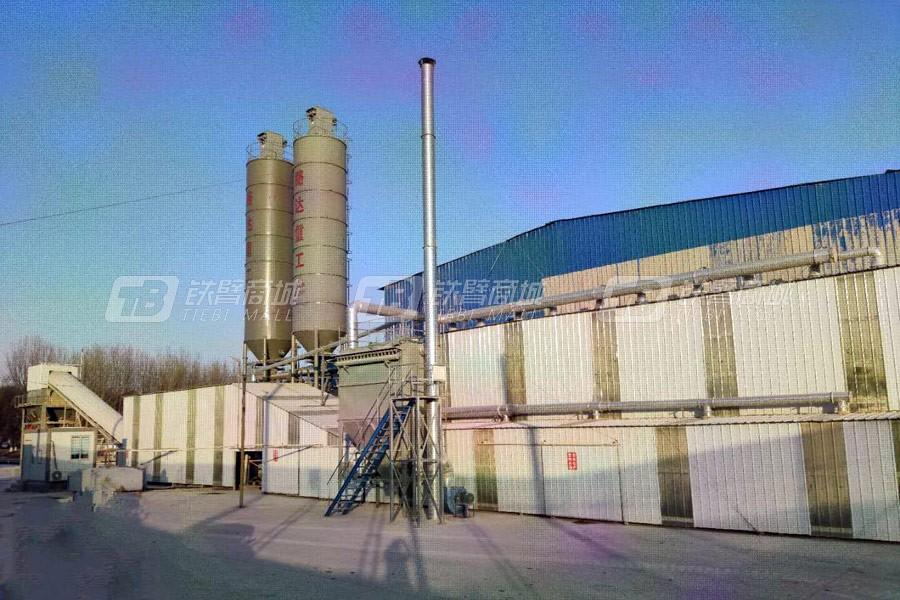 路达WCB800双拌锅环保型稳定土拌合站