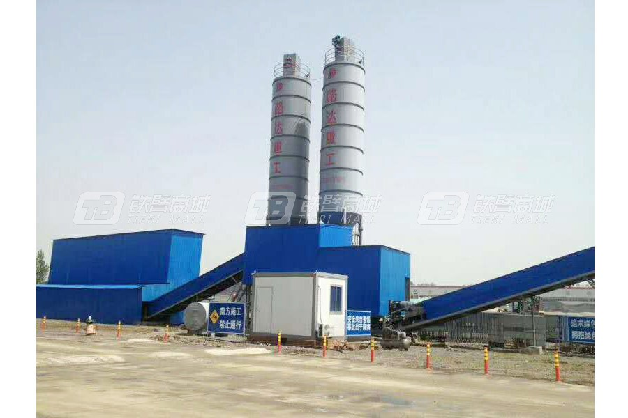 路达WCB400-800双拌锅环保型稳定土拌合站