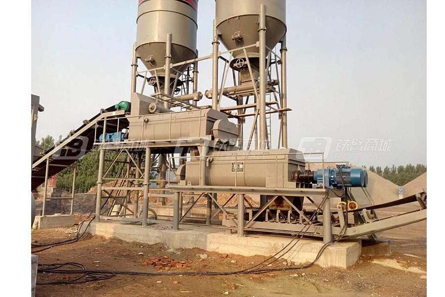 路达WCB400-800双拌锅稳定土拌合站-组合式