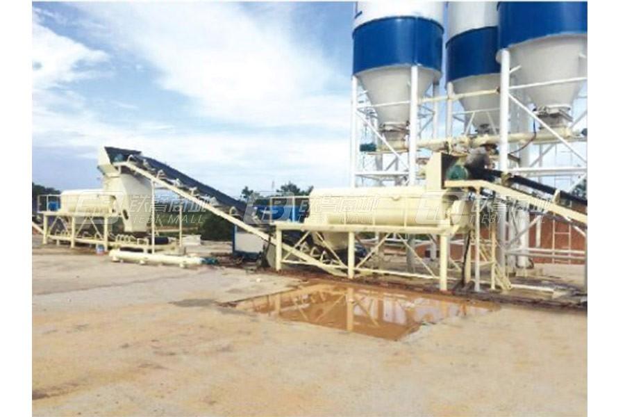 路达WCB400-800双拌锅稳定土拌合站-分体式