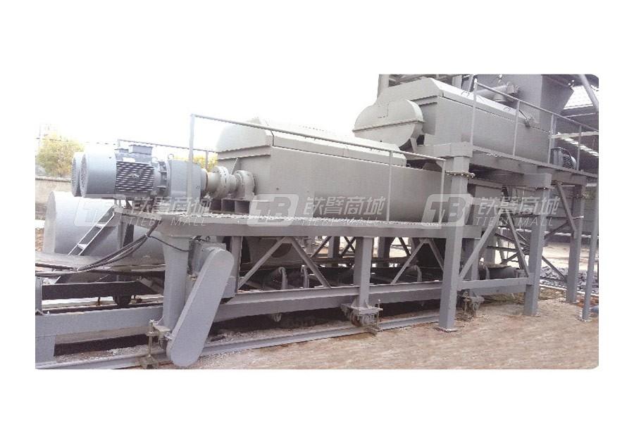 路达WCB400-800双拌锅稳定土拌合站-可移动式