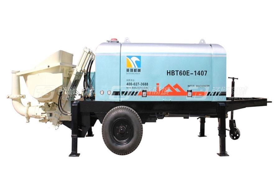 英特HBT80E-1608车载式混凝土泵