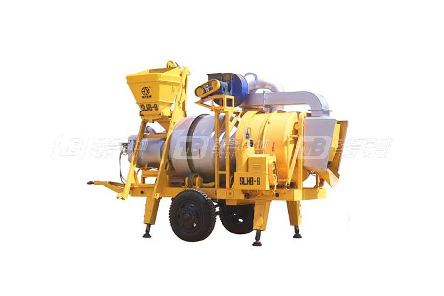 恒兴机械YHLB-30移动双滚筒间歇式沥青混合料拌和机