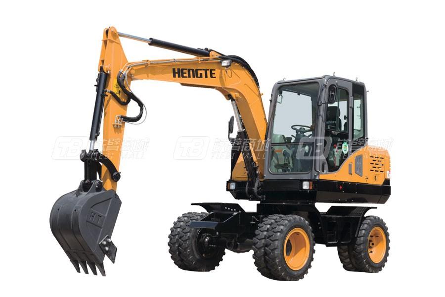 恒特重工HT75W轮式挖掘机