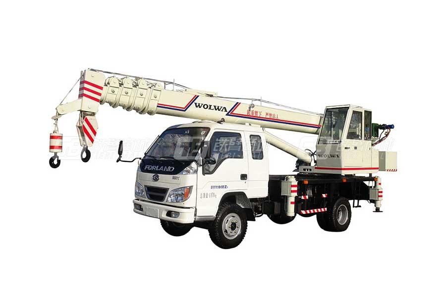 沃尔华GNQY-C8(8吨)汽车起重机
