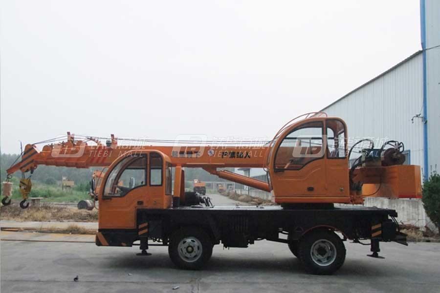 沃尔华GNQY-Z490(8吨)汽车起重机