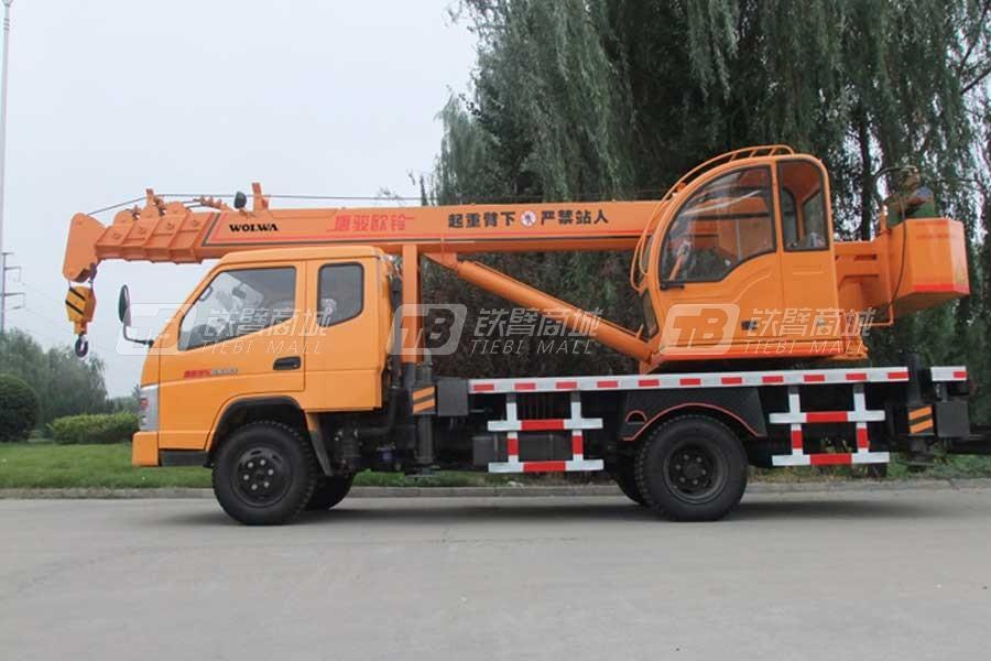 沃尔华GNQY-3200(排半)8吨汽车起重机