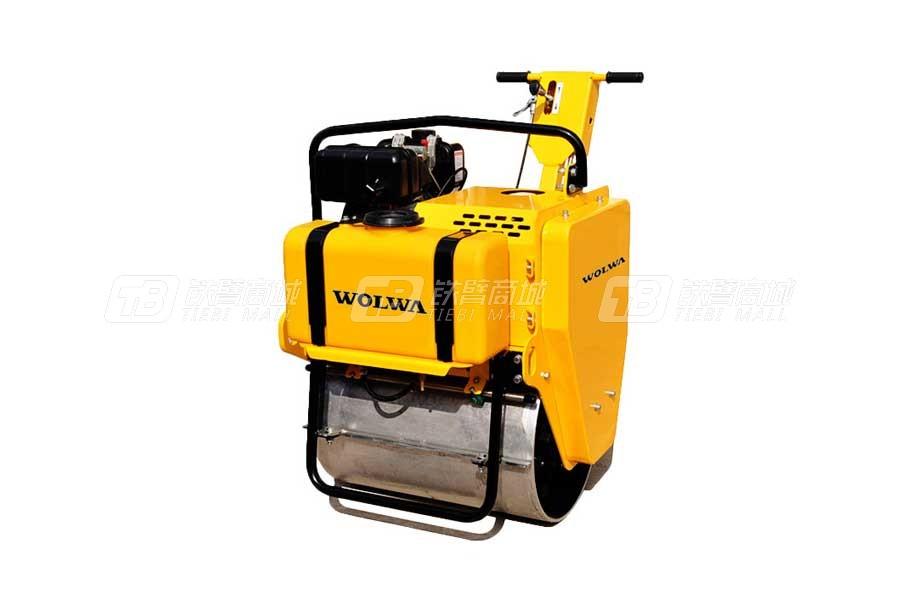 沃尔华GNYL22C高配置手扶式单钢轨压路机