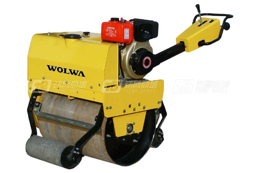 沃尔华GNYL24C(0.6吨)手扶式单钢轮压路机