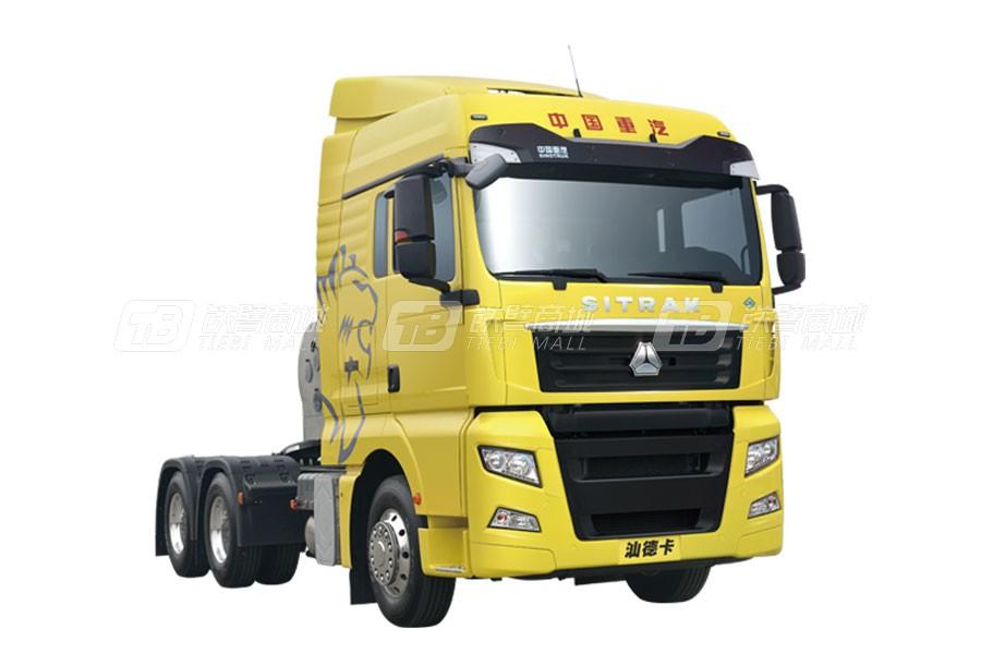 中国重汽汕德卡 C7H6×4燃气(LNG)牵引车