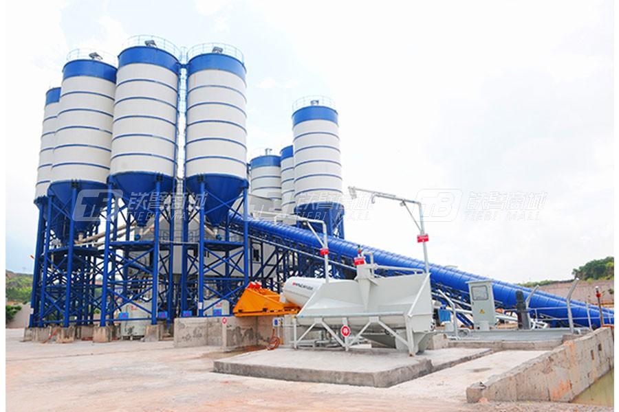 南方路机YCRP40MX集装箱式湿混凝土回收设备