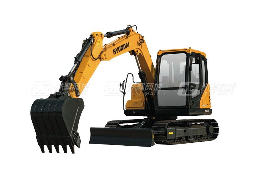 现代R75DVS小型挖掘机