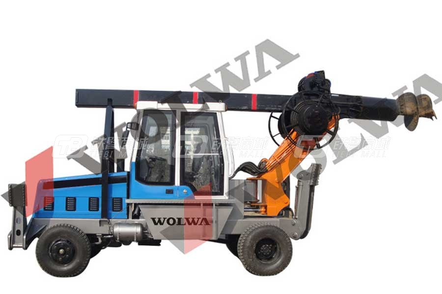 沃尔华GNLW180轮式旋挖钻机