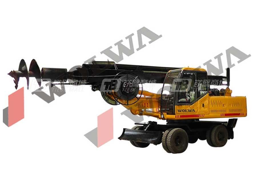 沃尔华GNLW360轮式旋挖钻机