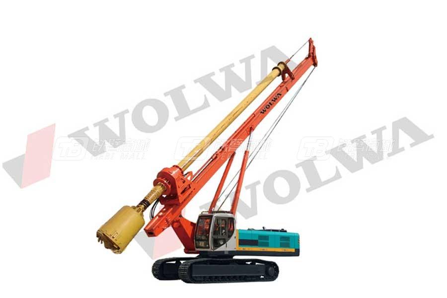沃尔华GNXW530-R机锁杆旋挖钻机