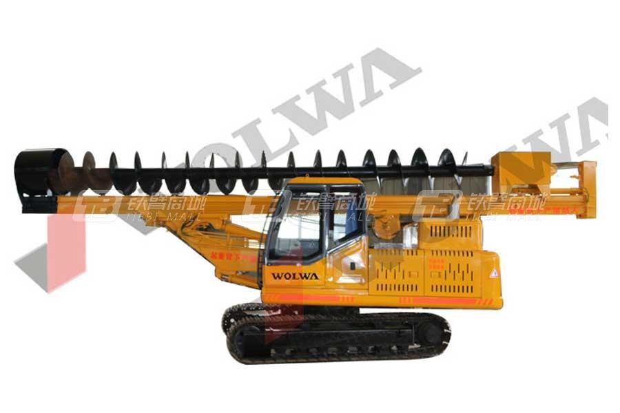 沃尔华GNDZ360-10履带式长螺旋打桩机