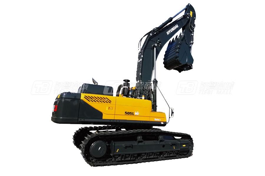 现代R505LVS挖掘装车及松土器改装专用