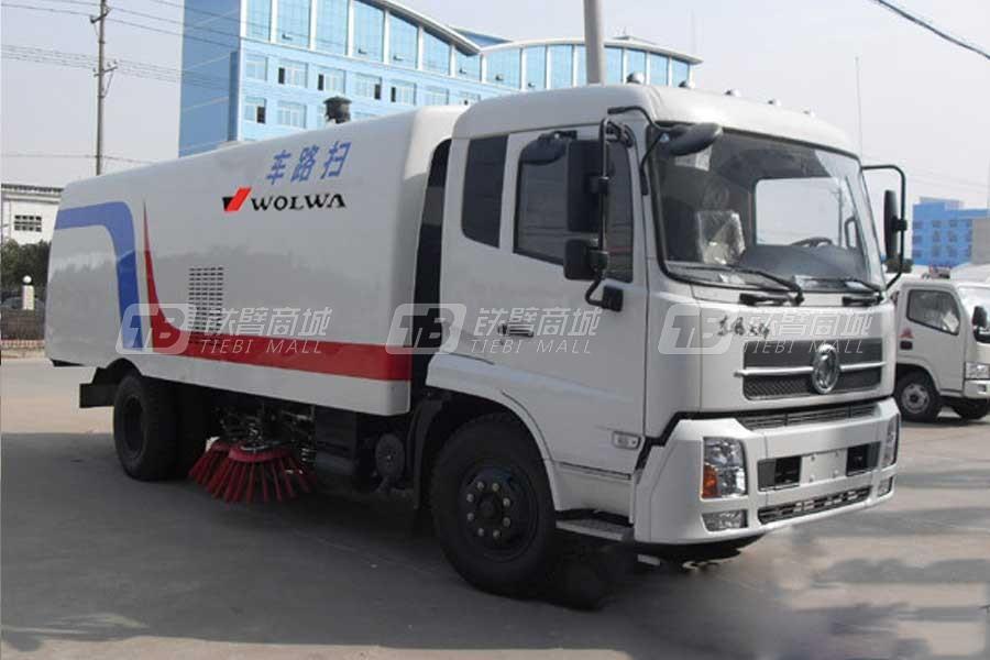 沃尔华CLW5160TSLD3东风天锦豪华版扫路车