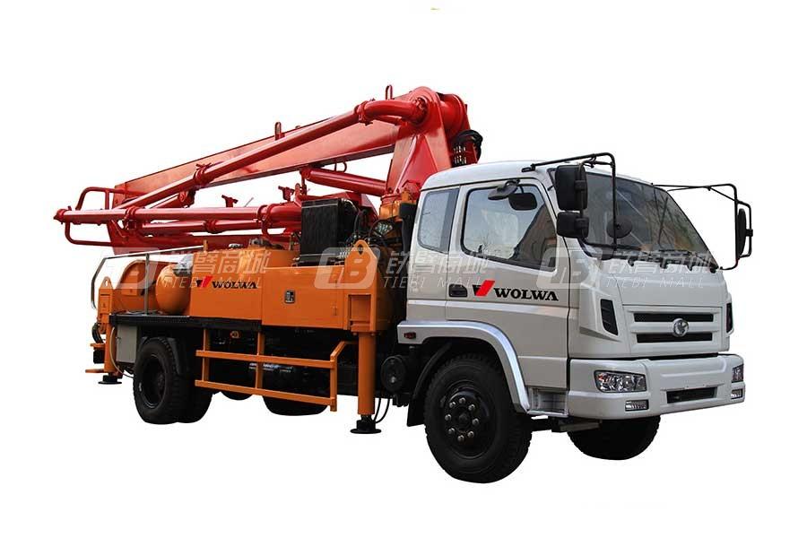 沃尔华GNBC537小型混凝土臂架泵车