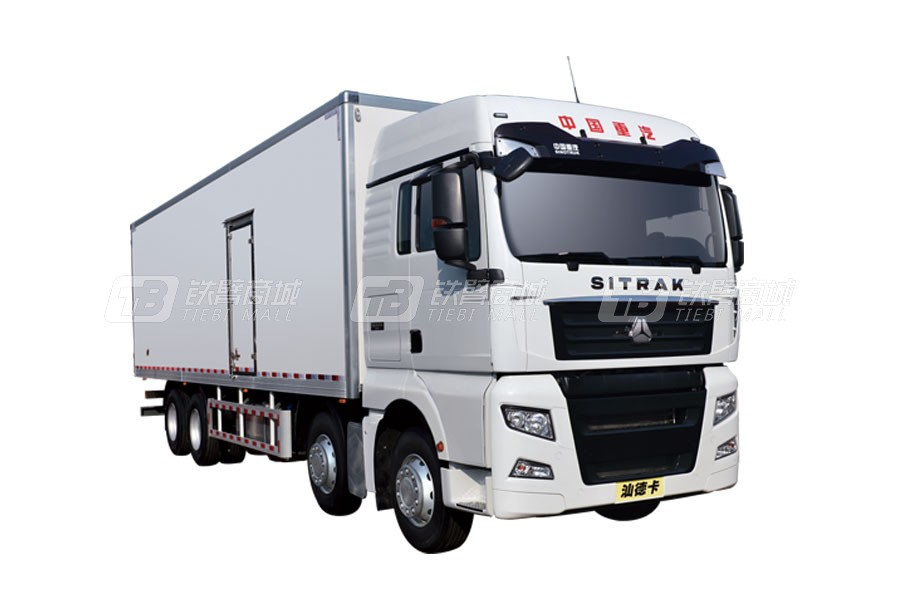 中国重汽汕德卡 G78×4 31吨冷藏车