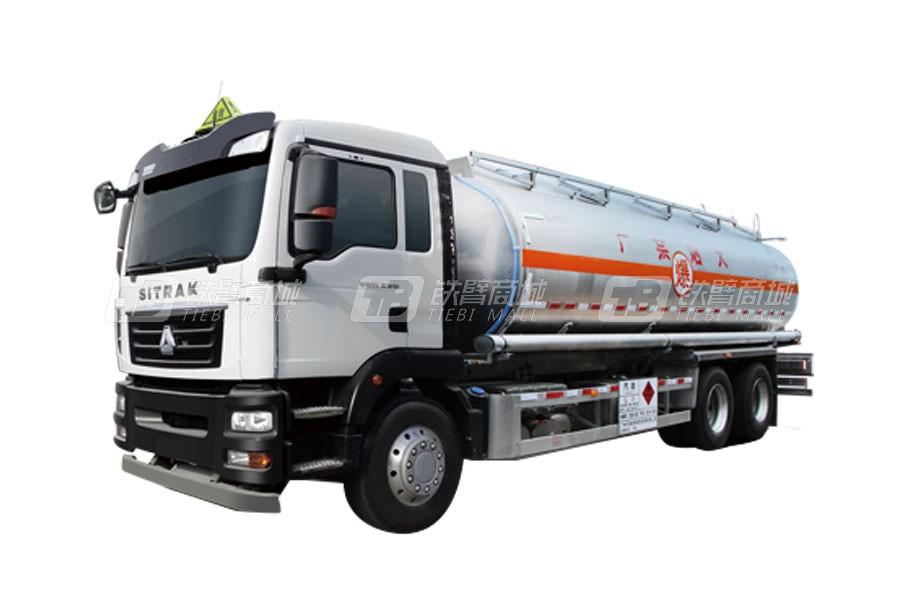 中国重汽汕德卡 G56×4 26吨运油车