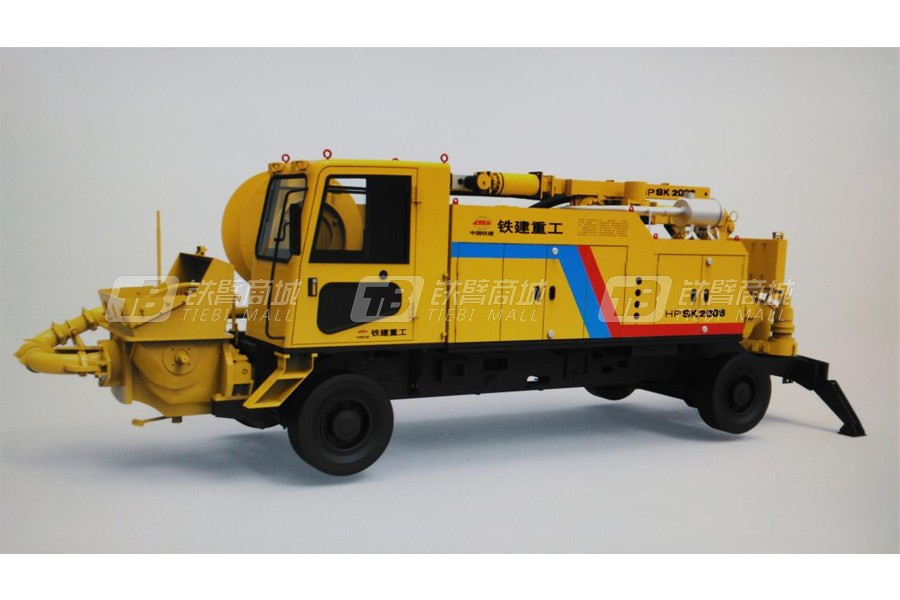 铁建重工HPSZ2006智能型混凝土喷射机