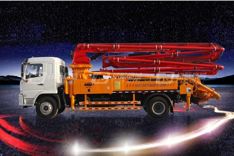和盛达HSD29混凝土泵车