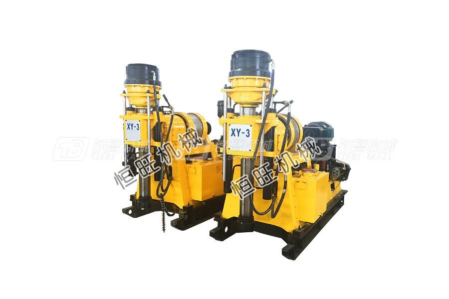 恒旺工矿XY-3液压钻机