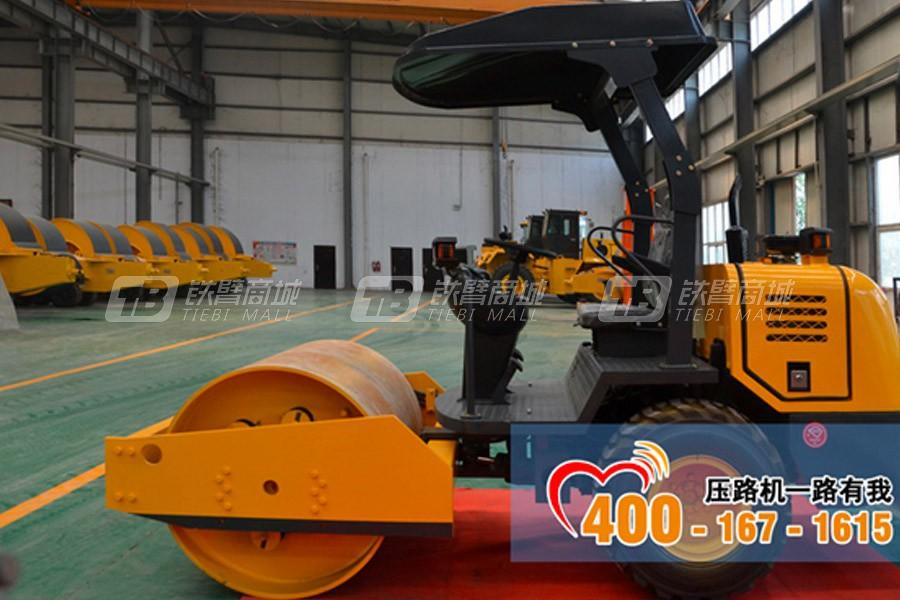 洛阳晟路LSS203单钢轮压路机