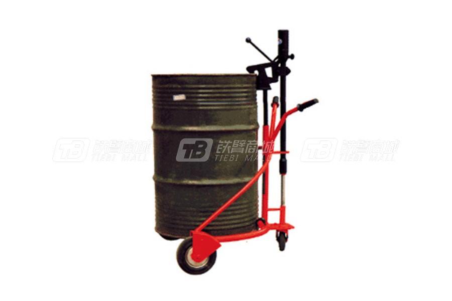 宏力YTC0.3手动液压圆桶搬运车