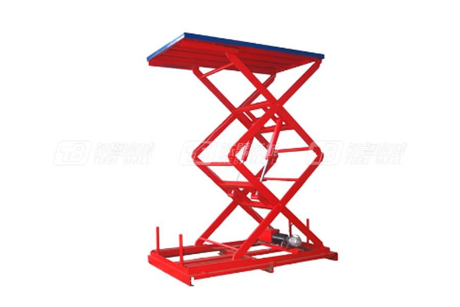 宏力SJG40-0.5固定式液压升降台(单叉式)