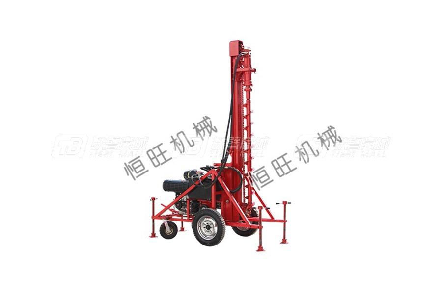 恒旺工矿HWT30Z小型轮式气动钻机