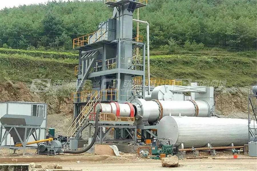 河南鑫筑XZ1500X强制式沥青混合料搅拌设备