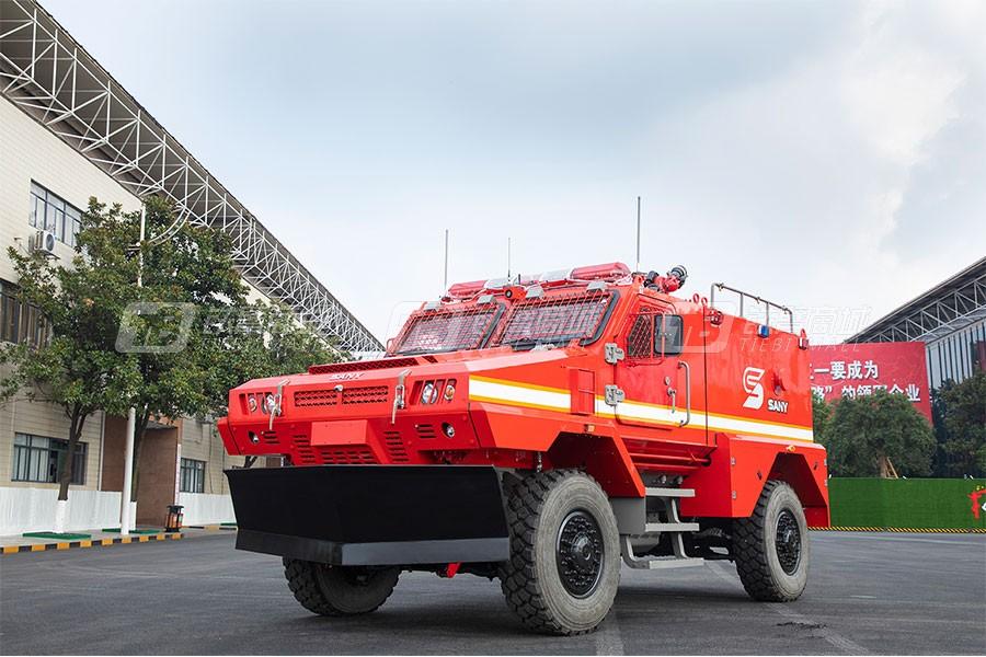 三一SYM5130TXFGJ高机动突击消防车