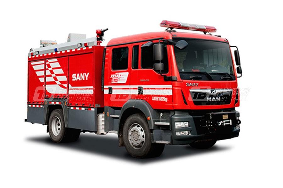 三一SYM5170GXFAP40压缩空气泡沫消防车