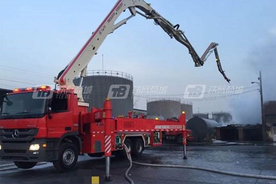 三一SYM5331JXFJP41重型粉剂多功能大跨度举高喷射消防车