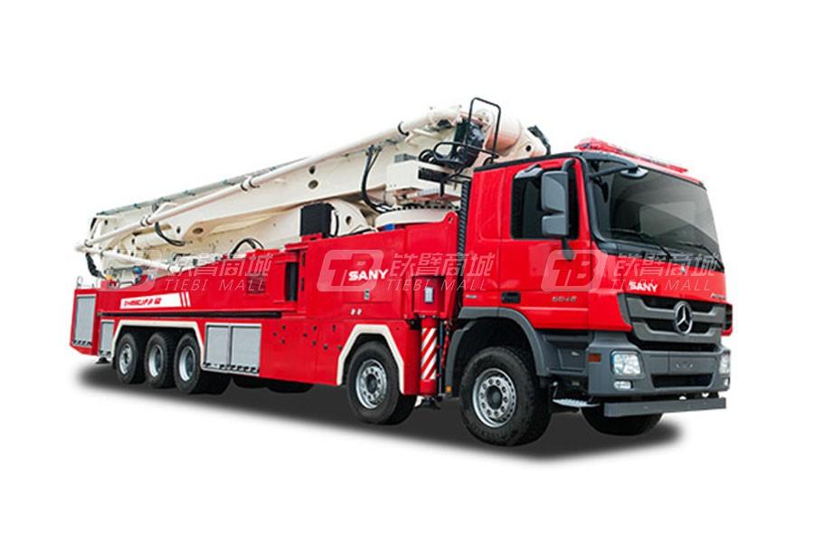 三一SYM5333JXFJP38大跨度举高喷射消防车