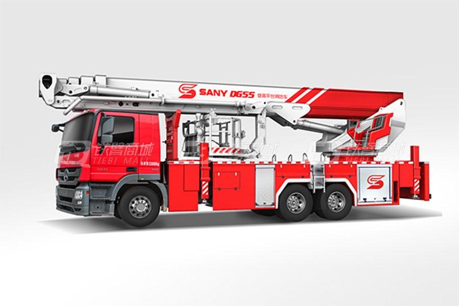 三一SYM5340JXFDG55消防车