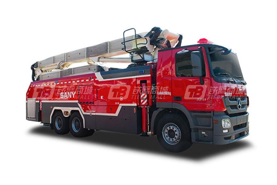 三一SYM5321JXFJP23强力破拆举高喷射消防车