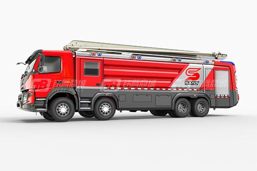 三一SYM5430JXFJP21大罐举高喷射消防车