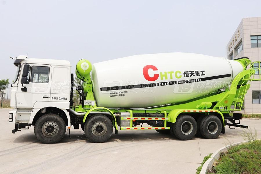 宏达汽车JYC5250GJBSX4混凝土搅拌运输车