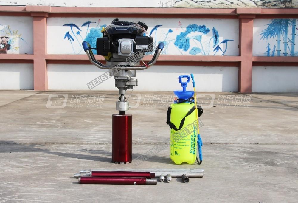 恒旺工矿HW-B30便携式取样钻机(背包钻机)