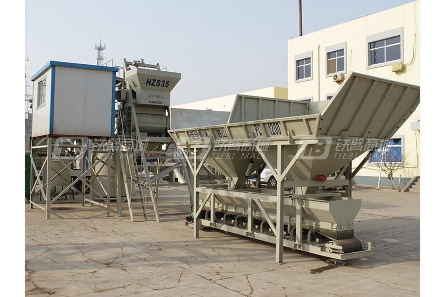 海山机械PL1200配料机