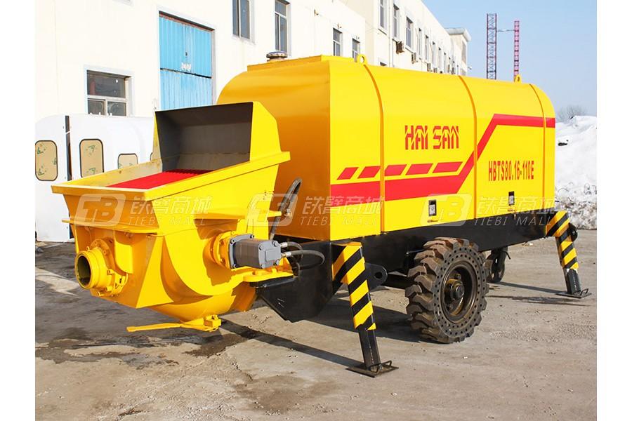 海山机械HBTS80.16-161DS拖泵