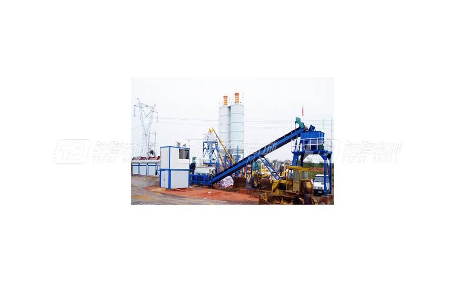 龙达LDE500稳定土厂拌设备